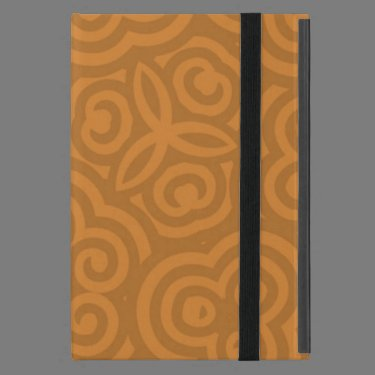 Bronze Abstract Pattern Case For iPad Mini