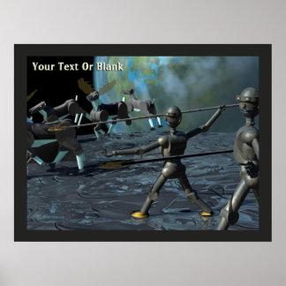 Bronze Age Robots Poster