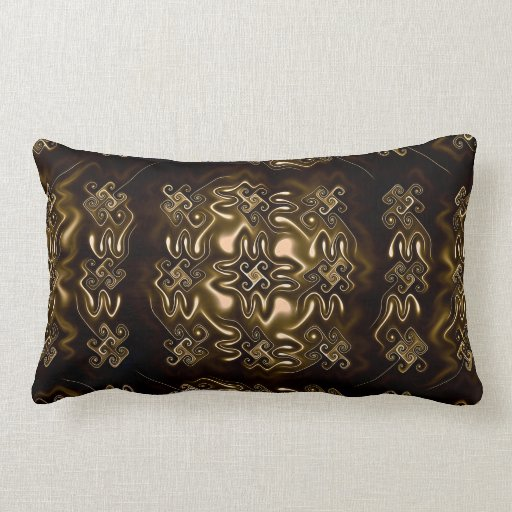 Bronze age throw pillow