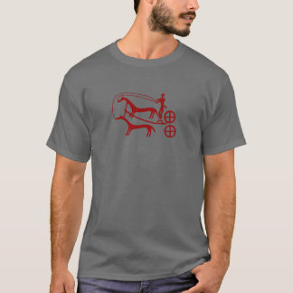Bronze Age war chariot from Kivik T-Shirt