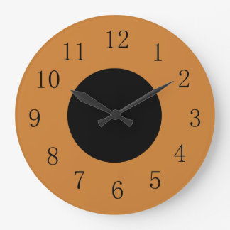 Bronze and Black Lowpriced Kitchen Wall Clock
