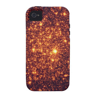 Bronze Astral Glitter iPhone 4 Cases