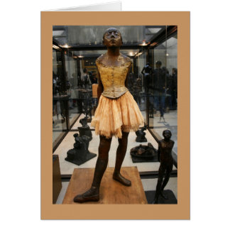 Bronze Ballerina Card