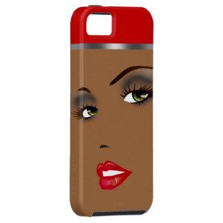 Bronze Beauty Pinup 1 Femme Fatale Diva iPhone SE/5/5s Case