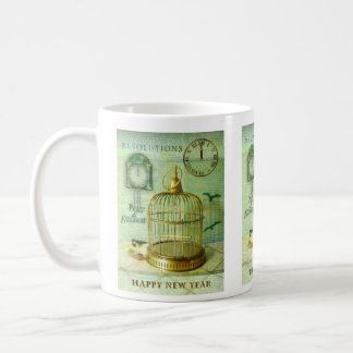Bronze Birdcage Coffee Mug
