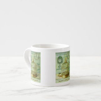 Bronze Birdcage Espresso Cup