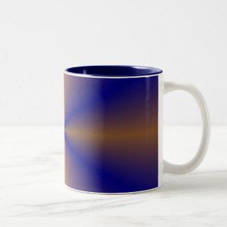 Bronze Blue Cofee Mug