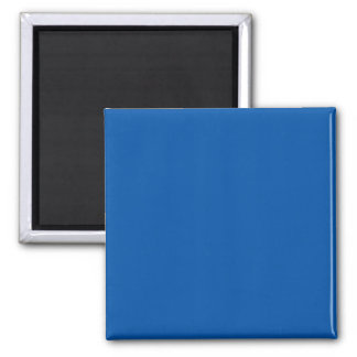 Bronze Blue Customizable Template Blank 2 Inch Square Magnet