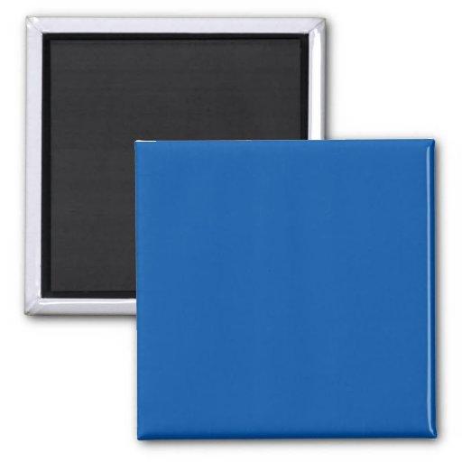 Bronze Blue Customizable Template Blank Fridge Magnet