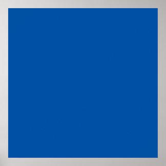 Bronze Blue Customizable Template Blank Poster