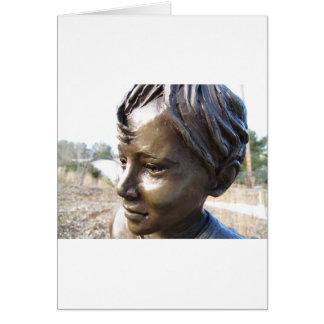 Bronze Boy Card