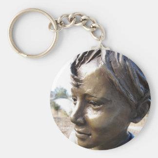 Bronze Boy Keychain