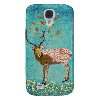 Bronze Buck Starry Night  Samsung Galaxy S4 Case