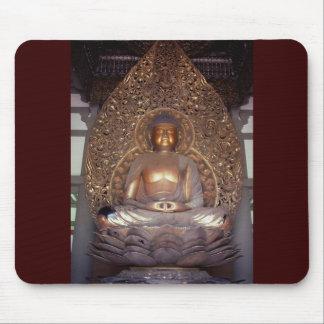 Bronze Buddha Mousepads