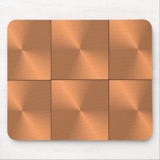 Bronze Conical Squares Mousemat Mouse Pad