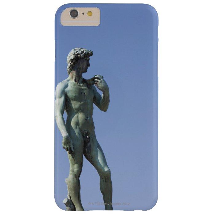 bronze copy of Michelangelo's statue of David in Blackberry Case