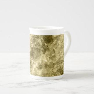 Bronze Crumpled Texture Tea Cup