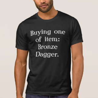 Bronze Dagger Tee