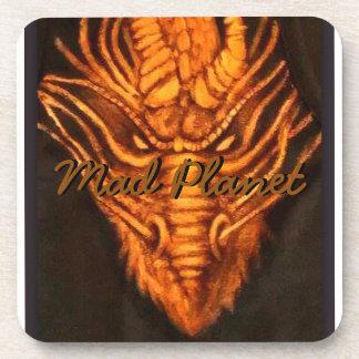 Bronze Dragon Head Drink Coaster