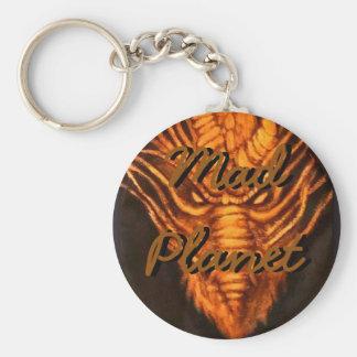 Bronze Dragon Head Keychain