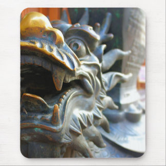 Bronze Dragon - Yu Market - Shanghai, China Mouse Pad