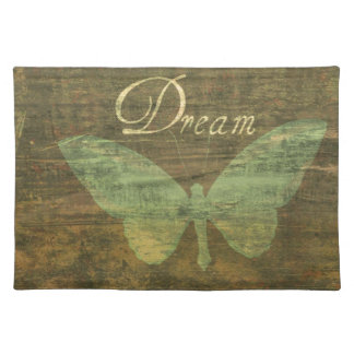 Bronze Dream Butterfly Placemat