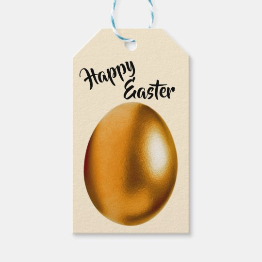 Bronze easter egg gift tag zazzle bronze easter egg gift tag negle Image collections