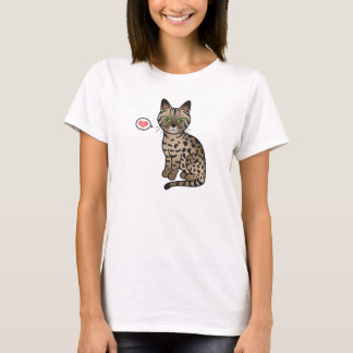 Bronze Egyptian Mau Love T-Shirt