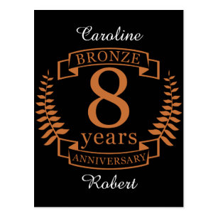 8th year anniversary gifts on zazzle