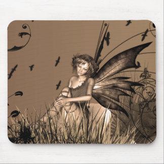 Bronze Fairy Fantasy Mouse Pad