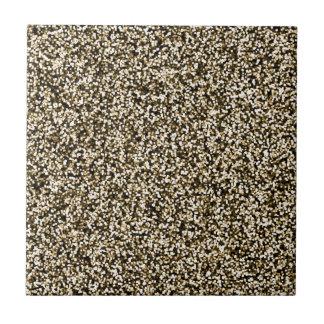 Bronze Faux Glitter Tile