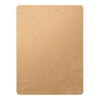 Bronze Foil Printed Card