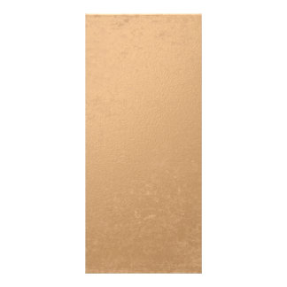 Bronze Foil Printed Rack Card