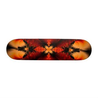 Bronze Fractal Custom Skateboard