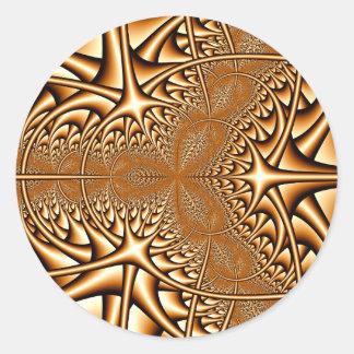 Bronze Fractal Sticker