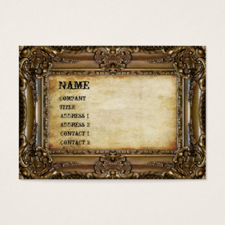Bronze Frame - Business Card