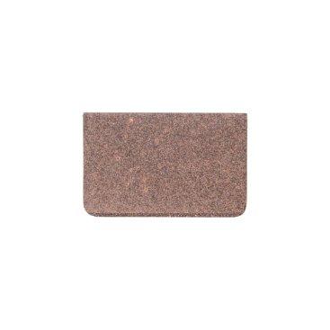 Beach Themed Bronze Glitter Sparkles Business Card Holder