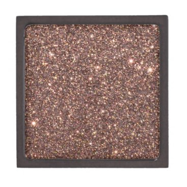 Professional Business Bronze Glitter Sparkles Gift Box