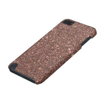 McTiffany Tiffany Aqua Bronze Glitter Sparkles iPod Touch (5th Generation) Cover