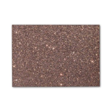 Beach Themed Bronze Glitter Sparkles Post-it® Notes