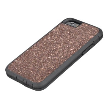 Beach Themed Bronze Glitter Sparkles Tough Xtreme iPhone 6 Case