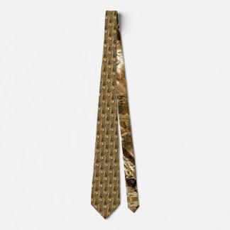 Bronze Griffins by Deprise Neck Tie