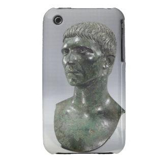 Bronze head of a man, Roman, beginning of 1st cent iPhone 3 Case-Mate Case