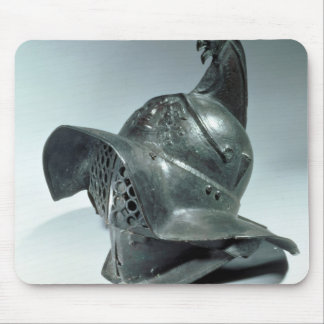 Bronze helmet of Thracian gladiator, Roman, 1st ce Mouse Pad