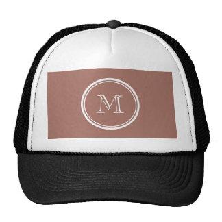 Bronze High End Colored Monogram Trucker Hat