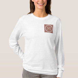Bronze High End Colored Monogram T-Shirt