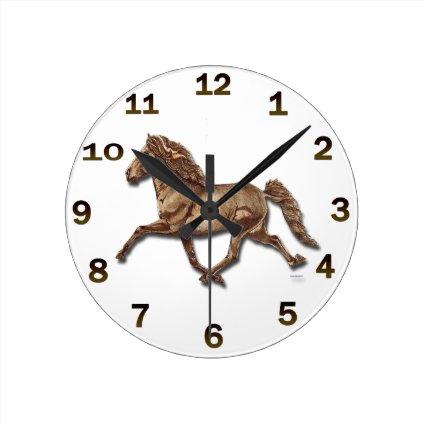 Bronze Icelandic Clocks
