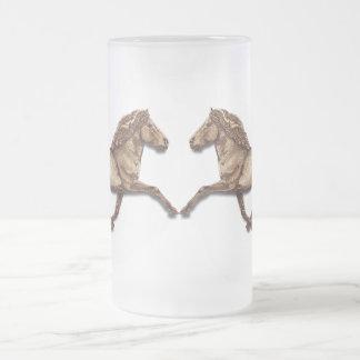 Bronze Icelandic Frosted Glass Beer Mug