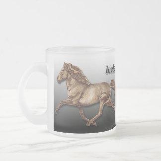 Bronze Icelandic Frosted Glass Coffee Mug