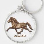Bronze Icelandic Key Chains